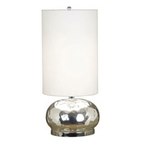 Roxie 23 inch 100 watt Mercury Glass Table Lamp Portable Light