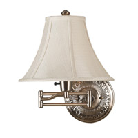 Amherst 22 inch 100 watt Bronzed Brass Wall Swing Arm Lamp Wall Light