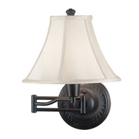 Kenroy Lighting Amherst 1 Light Wall Swing Arm Lamp in Oil Rubbed Bronze 21395ORB