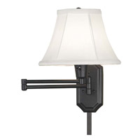 Kenroy Lighting Traditional 1 Light Swing Arm Sconce in Oil Rubbed Bronze 30121ORB-NCC