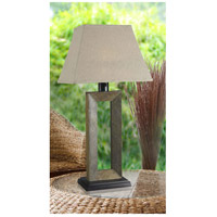 Kenroy Lighting 30515SL Egress 32 inch 100 watt Natural Slate Outdoor Table Lamp alternative photo thumbnail