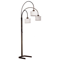 Kenroy Lighting Crush 3 Light Arc Lamp in Oil Rubbed Bronze   30674ORB