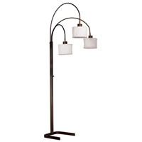 Kenroy Lighting 30674ORB Crush 6 inch 100 watt Oil Rubbed Bronze Arc Lamp Portable Light