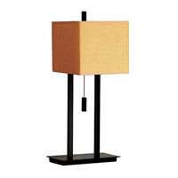 Kenroy Lighting Emilio 1 Light Accent Lamp in Bronze   30815BRZ