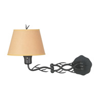 Kenroy Lighting Twigs 1 Light Swing Arm Wall Lamp in Bronze   30899BRZ