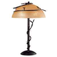 Kenroy Lighting Twigs 2 Light Table Lamp in Bronze   30900BRZ