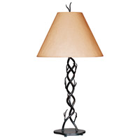 Kenroy Lighting Twigs 1 Light Table Lamp in Bronze   30908BRZ