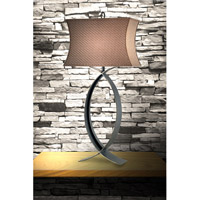 Kenroy Lighting Pisces 1 Light Table Lamp in Oxidized Bronze   30960OBZ