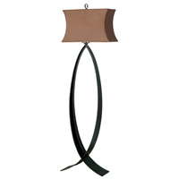 Pisces 60 inch 150 watt Oxidized Bronze Floor Lamp Portable Light