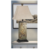 Kenroy Lighting 31202 Bennington 29 inch 100 watt Natural Slate Table Lamp Portable Light alternative photo thumbnail