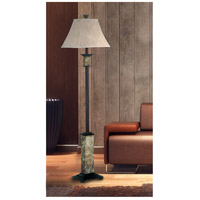 Kenroy Lighting 31204 Bennington 62 inch 100 watt Natural Slate Floor Lamp Portable Light alternative photo thumbnail