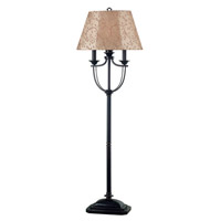 Belmont 58 inch 100 watt Oil Rubbed Bronze Outdoor Floor Lamp
