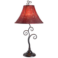 Kenroy Lighting Richardson 1 Light Table Lamp in Bronze   31380BRZ
