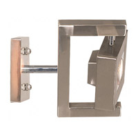 Kenroy Lighting Geometry 1 Light Sconce in Brushed Steel   31603BS