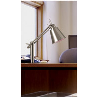 Kenroy Lighting 32004BS Nelson 20 inch 60 watt Brushed Steel Desk Lamp Portable Light alternative photo thumbnail