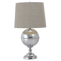 Kenroy Lighting Atlas 1 Light Table Lamp in Chrome   32053CH