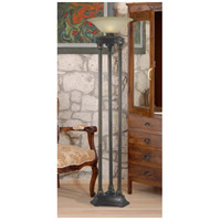 Kenroy Lighting 32066ORB Colossus 72 inch 150 watt Oil Rubbed Bronze/Marbleed Torchiere Portable Light, 3 Pole alternative photo thumbnail