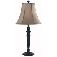 Kenroy Lighting Danbury 1 Light Table Lamp in Oil Rubbed Bronze   32075ORB