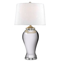 Kenroy Lighting Raylene 1 Light Table Lamp in Mercury Glass   32082MG