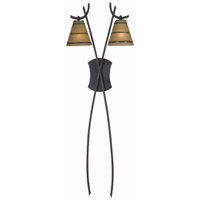 Kenroy Lighting Wright 2 Light Wallchiere in Oil Rubbed Bronze   32083ORB