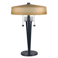 Kenroy Lighting Windham 2 Light Table Lamp in Bronze   32085BRZ