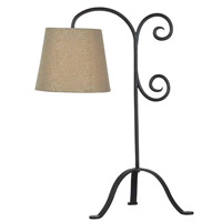 Kenroy Lighting Morrison 1 Light Table Lamp in Bronze Graphite   32086BRZG