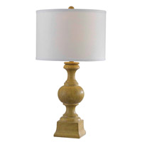 Kenroy Lighting Derby 1 Light Table Lamp in Natural Wood Grain   32090NWG