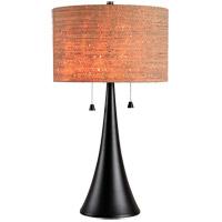 Kenroy Lighting 32092ORB Bulletin 21 inch Oil Rubbed Bronze Table Lamp Portable Light
