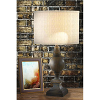 Kenroy Lighting Andover 1 Light Table Lamp in Driftwood   32098DW