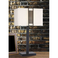 Kenroy Lighting Gatekeeper 1 Light Table Lamp in Oil Rubbed Bronze   32099ORB