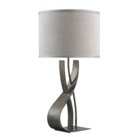 Kenroy Lighting Canyon 1 Light Table Lamp in Smoked Bronze   32120SMB