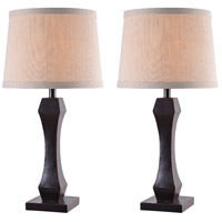 Kenroy Lighting 32121ORB Gemini 29 inch 100 watt Oil Rubbed Bronze Table Lamp Portable Light