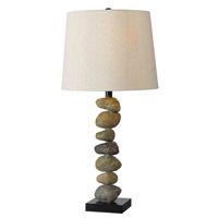 Rubble 29 inch 150 watt Stone Table Lamp Portable Light