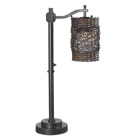Brent 30 inch 100 watt Oil Rubbed Bronze Outdoor Table Lamp
