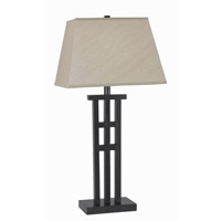 Kenroy Lighting McIntosh 1 Light Table Lamp in Bronze   32157BRZ