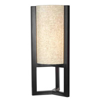 Teton 25 inch 100 watt Madera Bronze Table Lamp Portable Light
