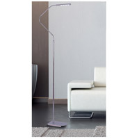 Kenroy Lighting 32175CH Bently 87 inch 1 watt Chrome Floor Lamp Portable Light alternative photo thumbnail
