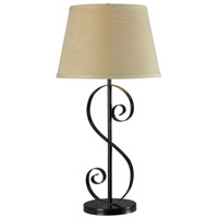 Kenroy Lighting Galaxy 1 Light Table Lamp in Oil Rubbed Bronze   32181ORB
