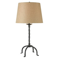 Kenroy Lighting Knox 1 Light Table Lamp in Bronze   32182BRZ