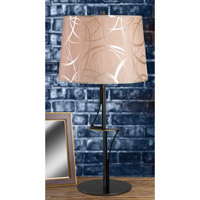 Kenroy Lighting Spinner 1 Light Table Lamp in Oxidized Bronze   32185OBZ