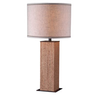 Kenroy Lighting Corkage 1 Light Table Lamp in Natural Cork 32202CK