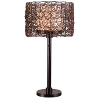 Kenroy Lighting 32219BRZ Tanglewood 28 inch 100 watt Bronze Outdoor Table Lamp