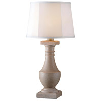 Kenroy Lighting Patio 1 Light Outdoor Table Lamp in Coquina 32223COQN