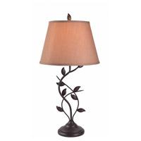 Kenroy Lighting Ashlen 1 Light Table Lamp in Oil Rubbed Bronze 32239ORB