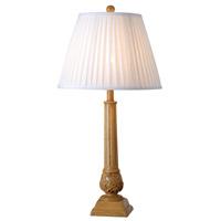 Kenroy Lighting Jobe 1 Light Table Lamp in Natural Wood Grain 32244NWG