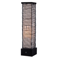 Kenroy Lighting Trellis 1 Light Outdoor Table Lamp in Bronze 32249BRZ