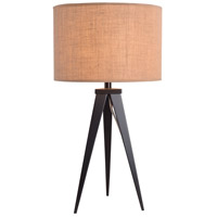 Kenroy Lighting Foster 1 Light Table Lamp in Oil Rubbed Bronze 32262ORB