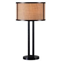 Kenroy Lighting Keen 1 Light Table Lamp in Bronze 32312BRZ