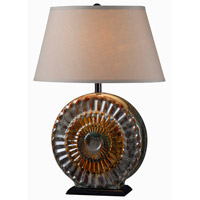 Kenroy Lighting El Paso 1 Light Table Lamp in Multicolor Ceramic 32365MULT