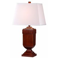 Kenroy Lighting Affiliate Pack of 2 Table Lamps in Mahogany 32415MAH
